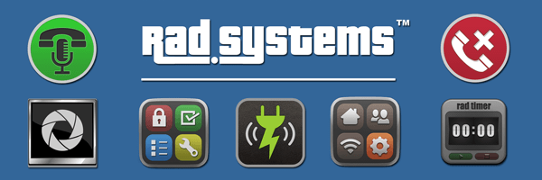 Rad Systems BlackBerry Apps