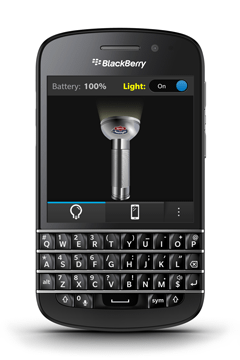 Torch Flashlight for BlackBerry Q10