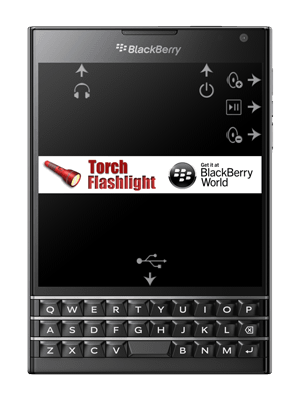 BlackBerry Passport device ports